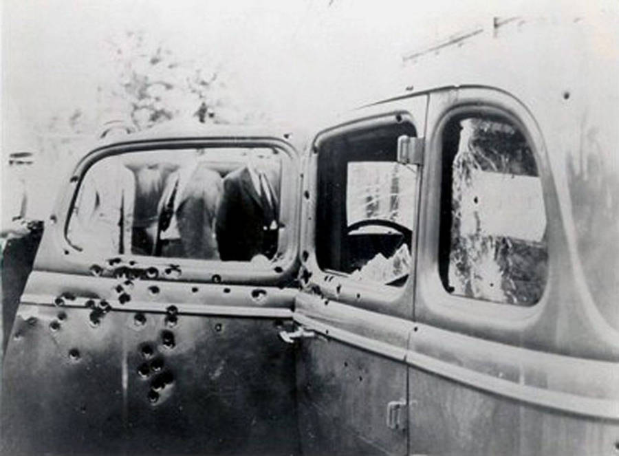 Bonnie And Clyde Car Famous Random Objects