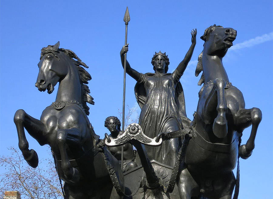 Queen Boudica Statute