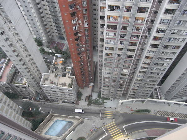 View From A Tall Building