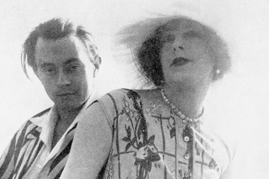 Lili Elbe and Claude