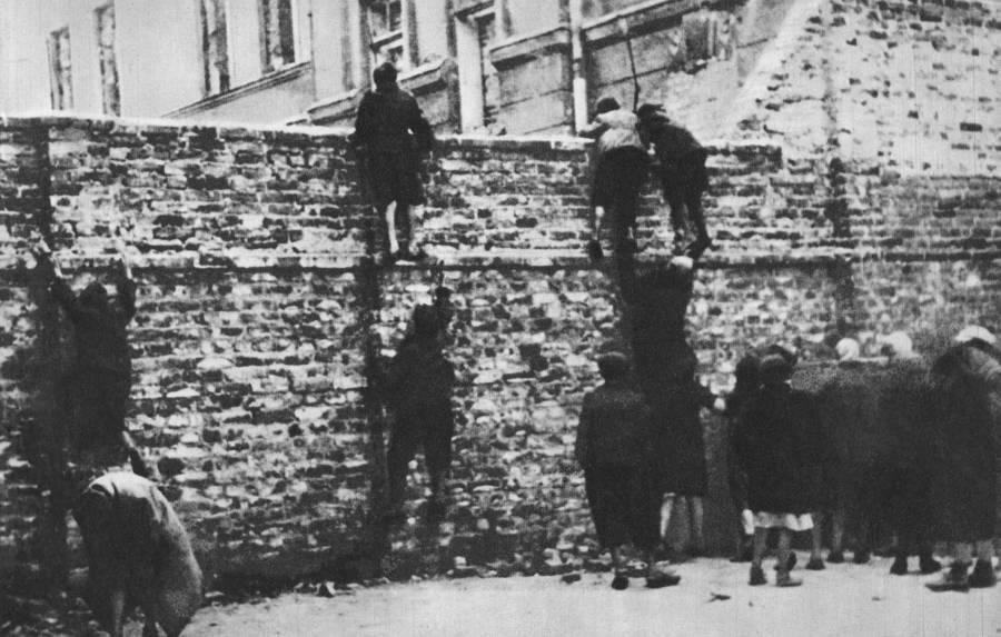 Climbing The Ghetto Wall