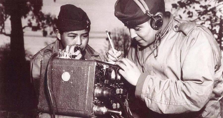 Navajo Code Talkers Deciphering Code