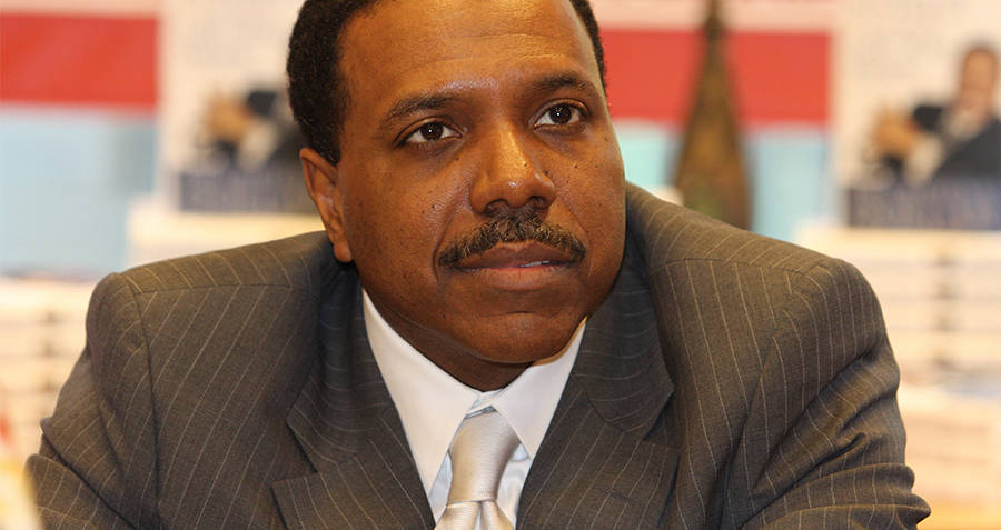 Creflo Dollar Smiling