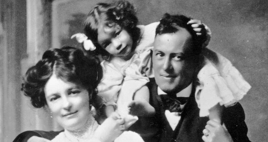 Aleister Crowley And Family