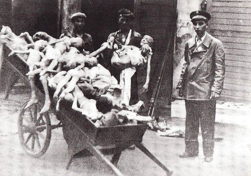 Jewish Ghettos Dead Children