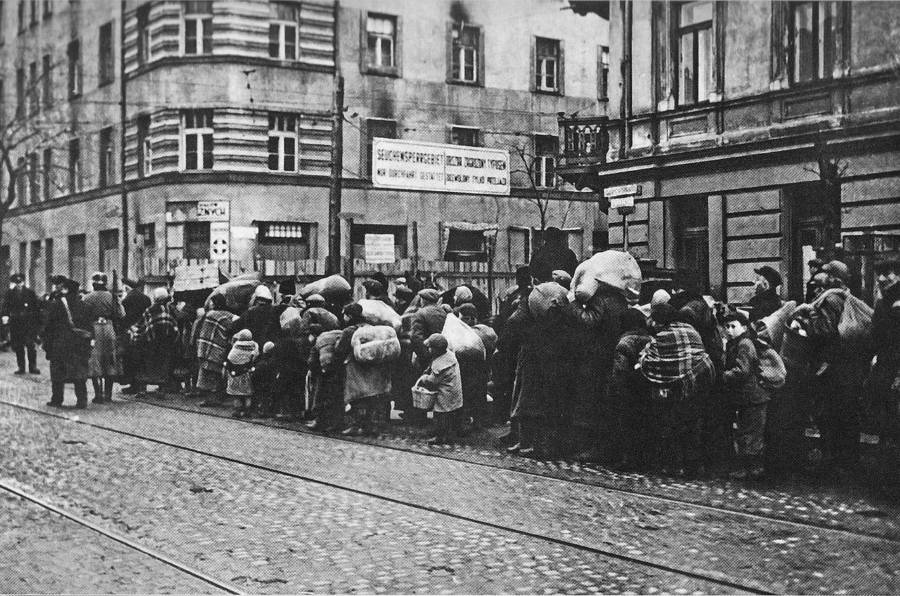 Deportation To Warsaw Ghetto