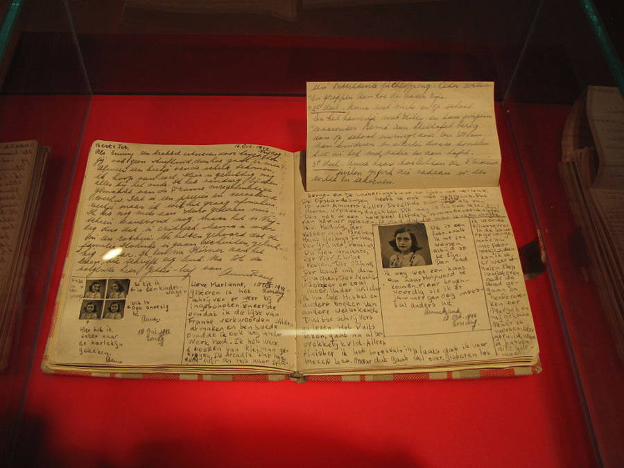 Diary Of Anne Frank Famous Random Objects