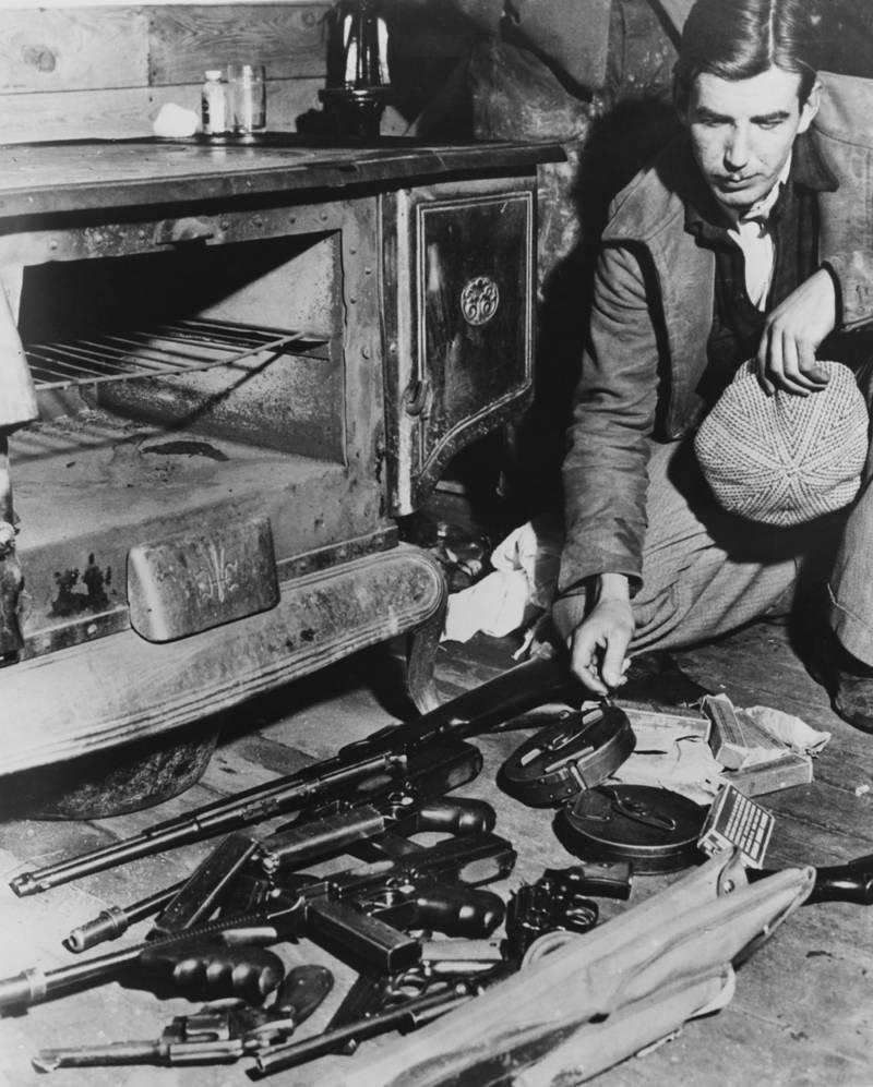John Dillingers Guns