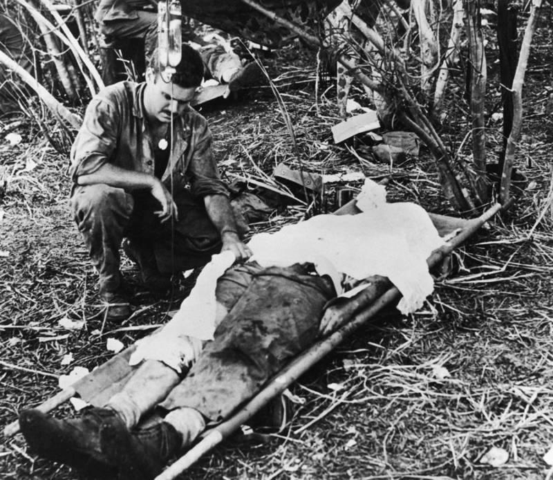 Combat Medics Dying Man