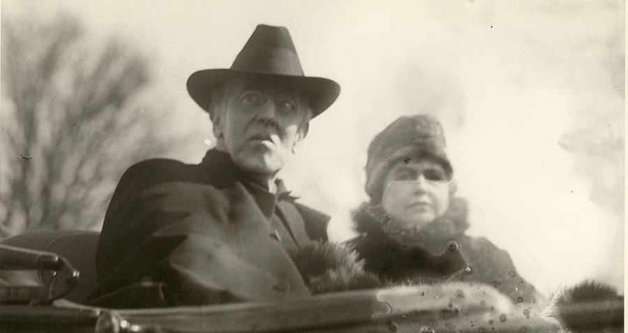Edith And Woodrow Wilson