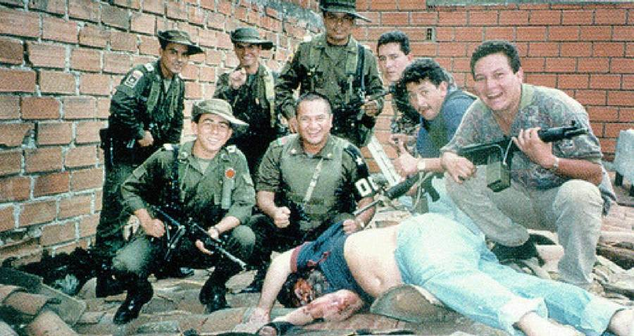Pablo Escobar Death Photo