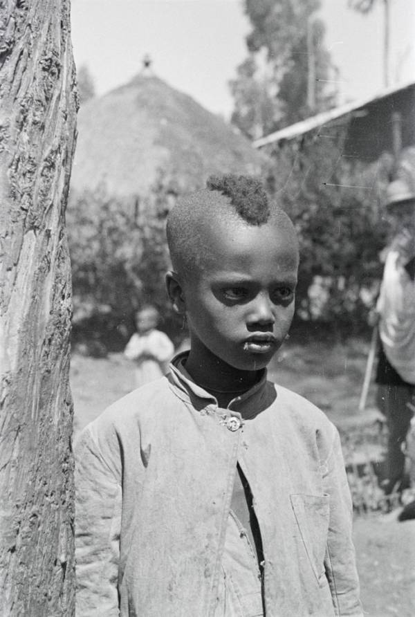 Ethiopian Child African Kingdoms
