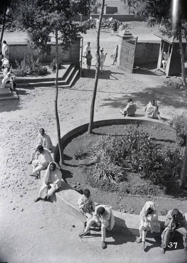 Ethiopian Courtyard