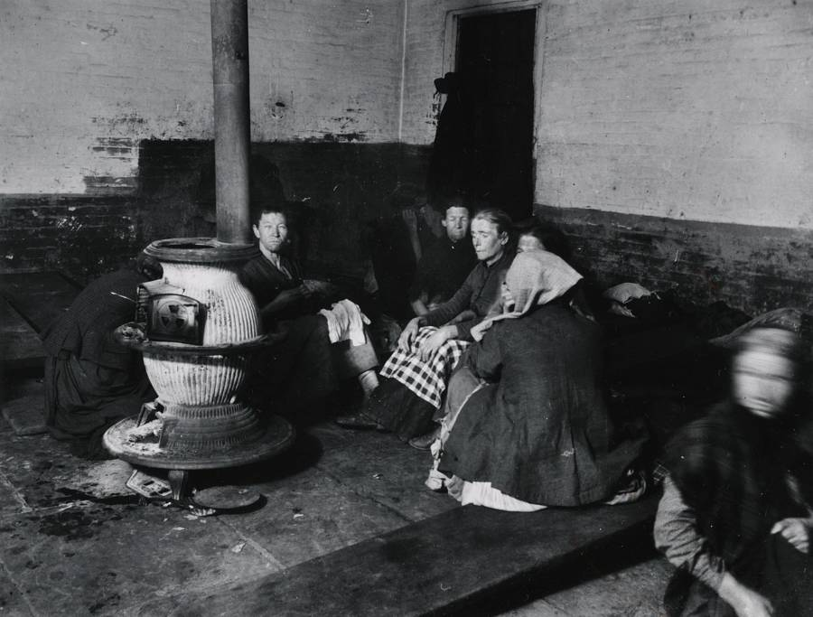 Female Lodgers In Police Station