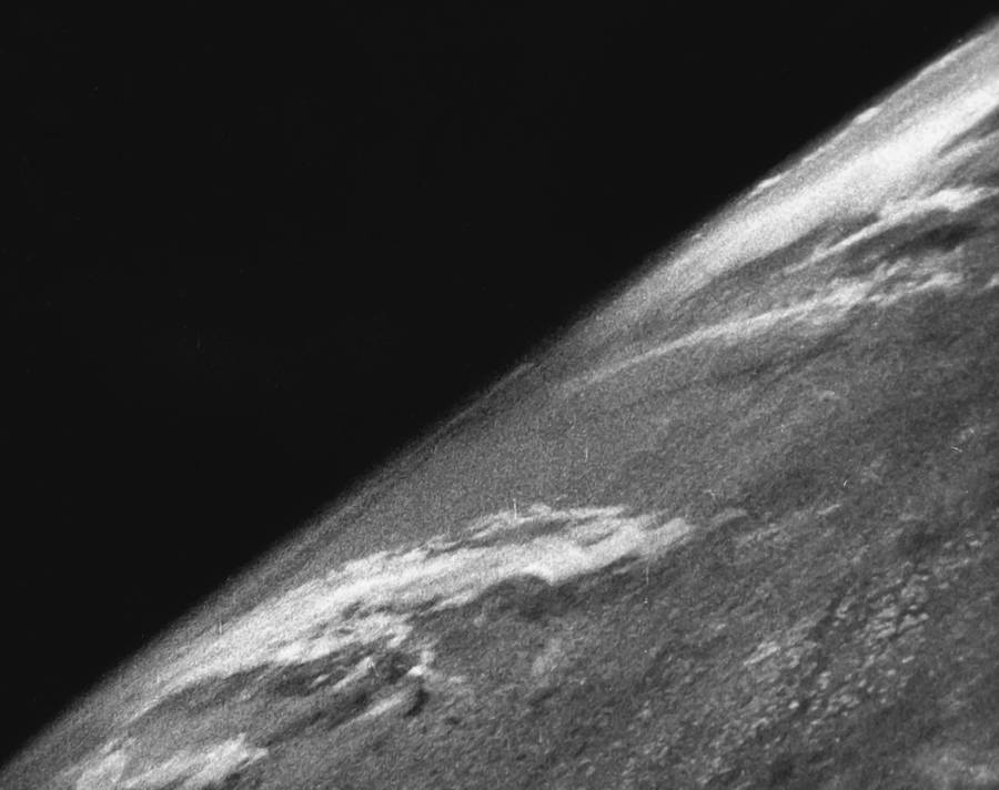 First Photograph From Space