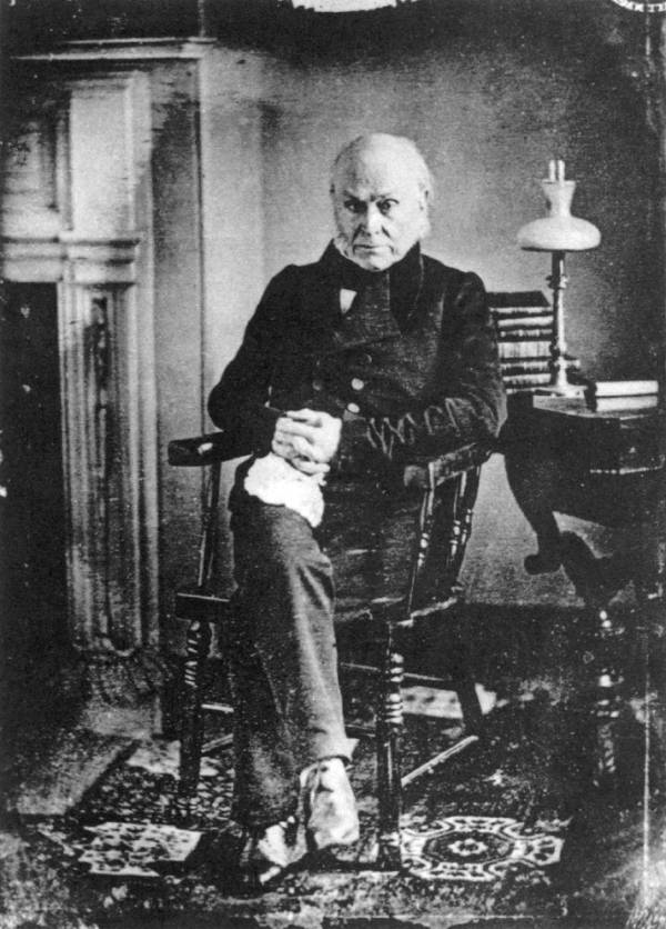 First Photograph John Adams