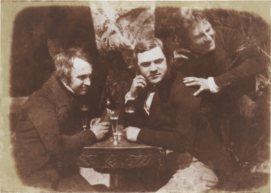 First Photograph Of Drinking