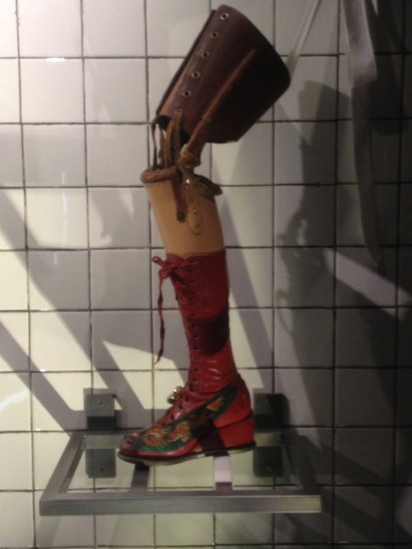 Frida Kahlo's Prosthetic Leg Famous Random Objects