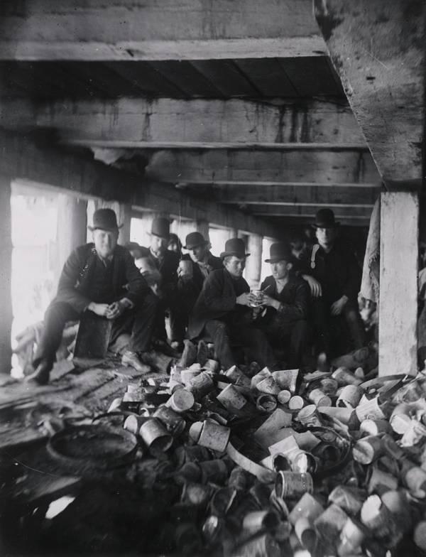 Gang Under Pier