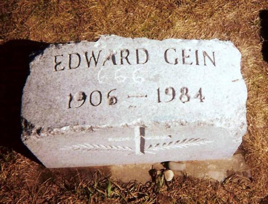 Ed Gein's Gravestone