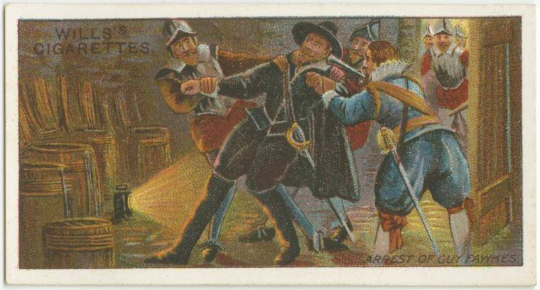 Guy Fawkes Is Arrested