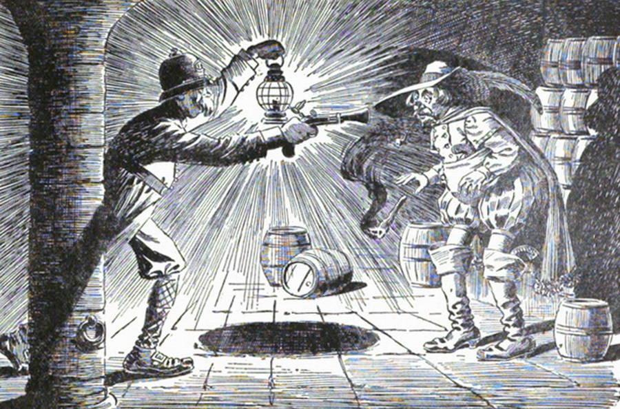Guy Fawkes Gunpowder Plot Discovery