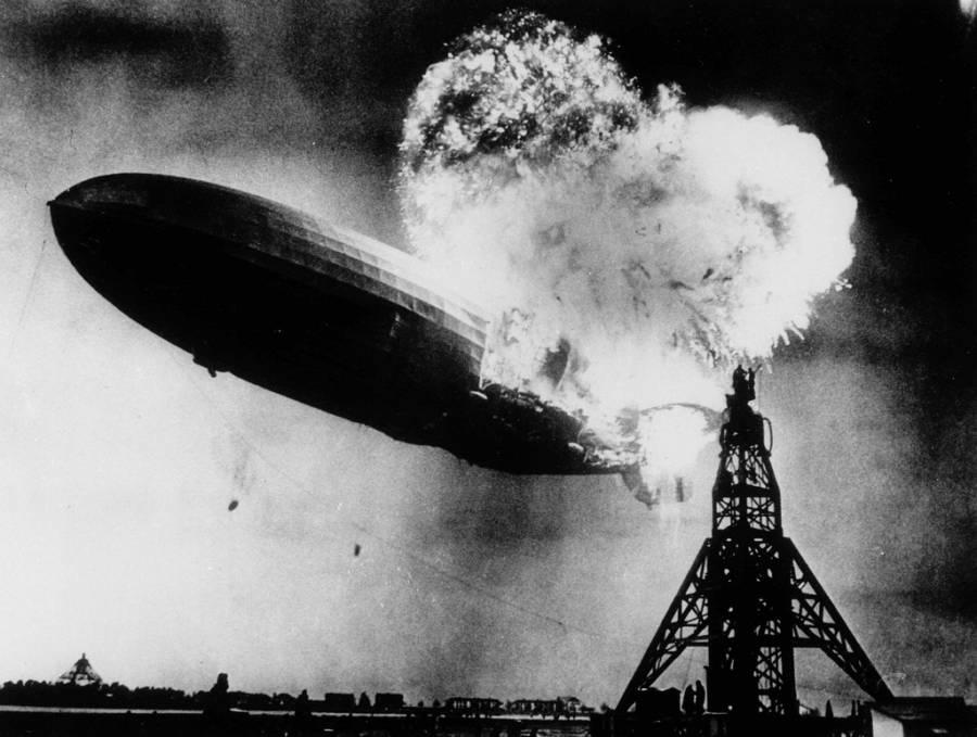 Hindenburg Crash