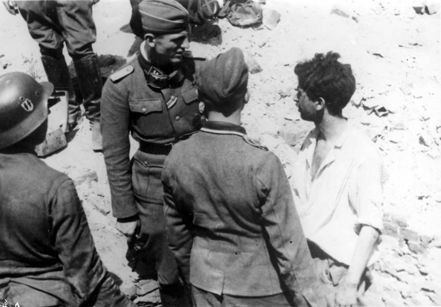 Interrogating Jewish Resistance Fighter