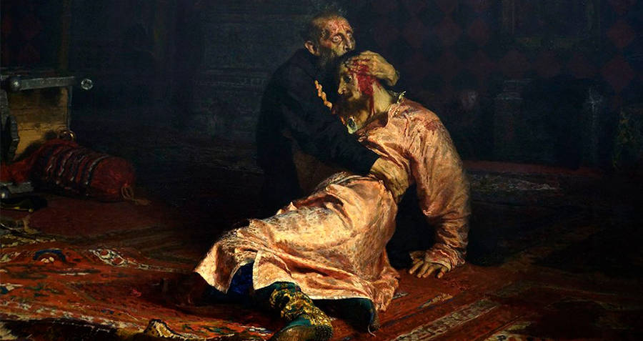 Ivan The Terrible After His Son's Death