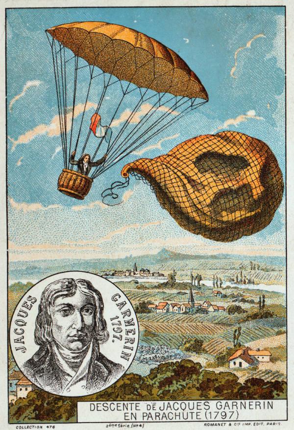 Jacques Garnerin Parachute
