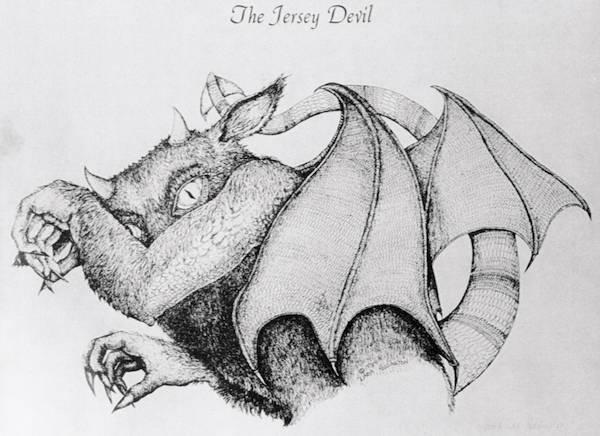 Jersey Devil Sketch