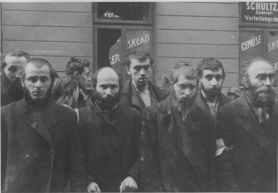 Jewish Rabbis Warsaw Ghetto