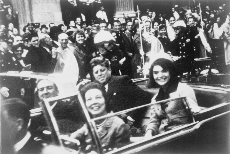 JFK With Jackie Before Assassination