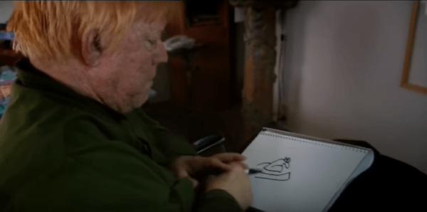 John Callahan Drawing
