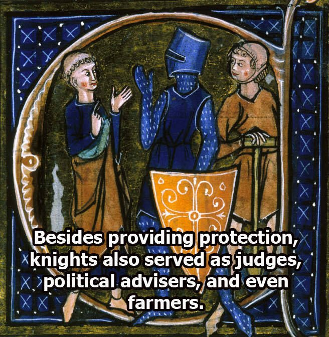 Medieval Knights' Other Occupations