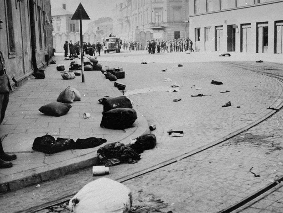 Krakow After Deportation