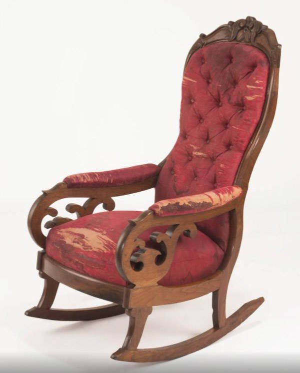 The Chair President Lincoln Was Shot In
