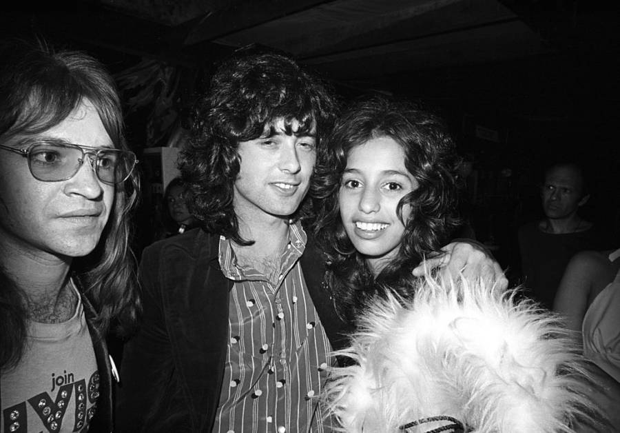 Lori Maddox And Jimmy Page
