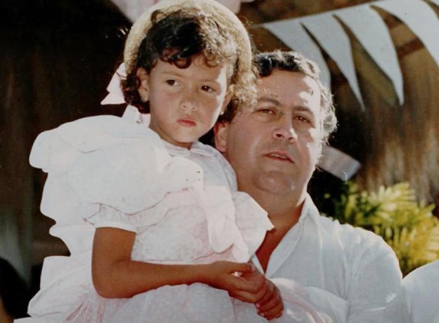 Pablo Escobar And Manuela Escobar