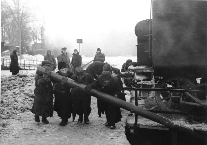 Minsk Ghetto Train Labor