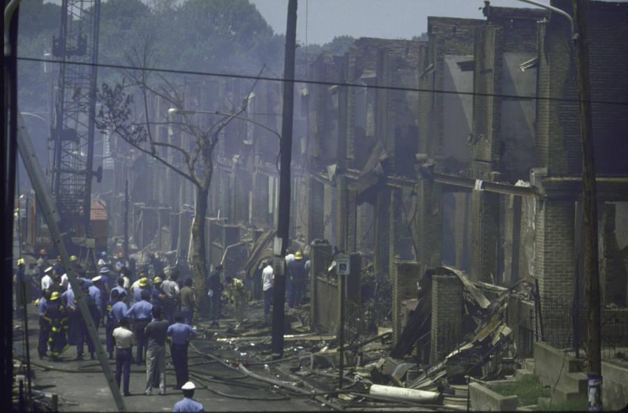 Move Bombing Wreckage