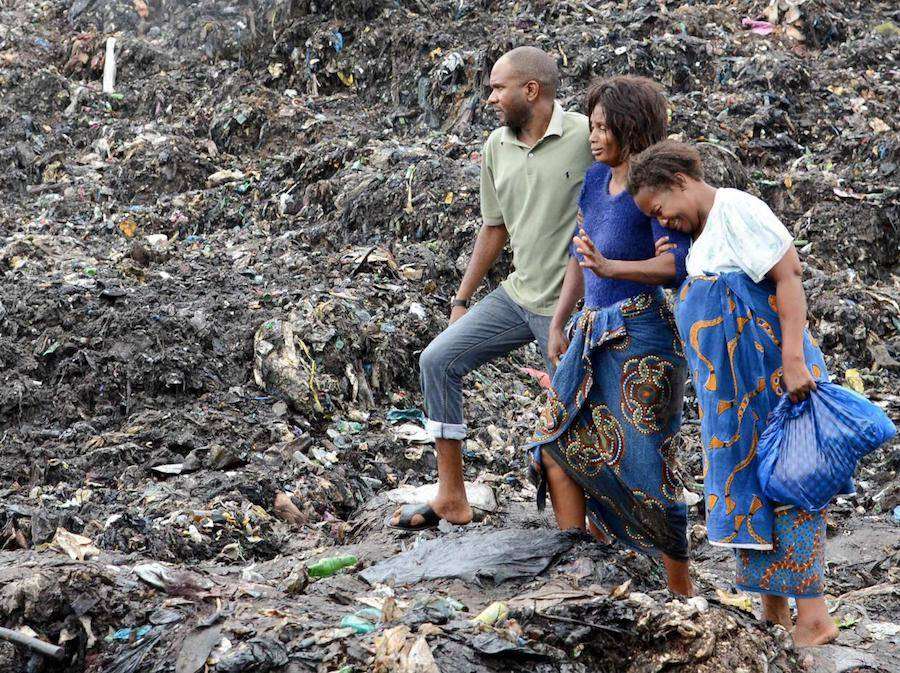 Mozambique Rubbish Collapse