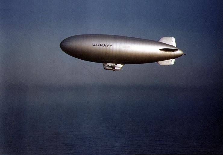 Navy Blimp Ww2