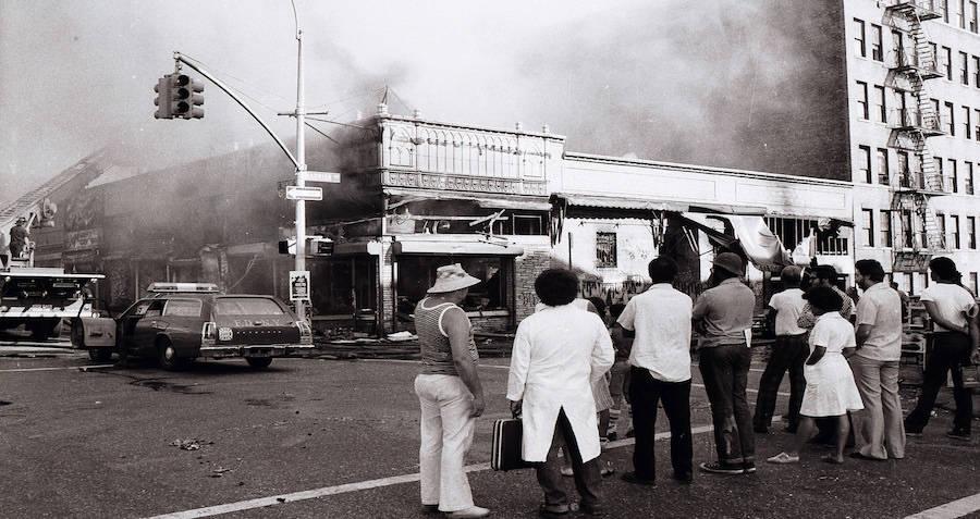 Arson During New York Blackout