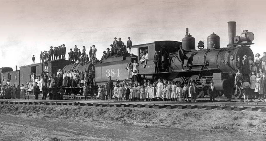 Orphan Train Crowd