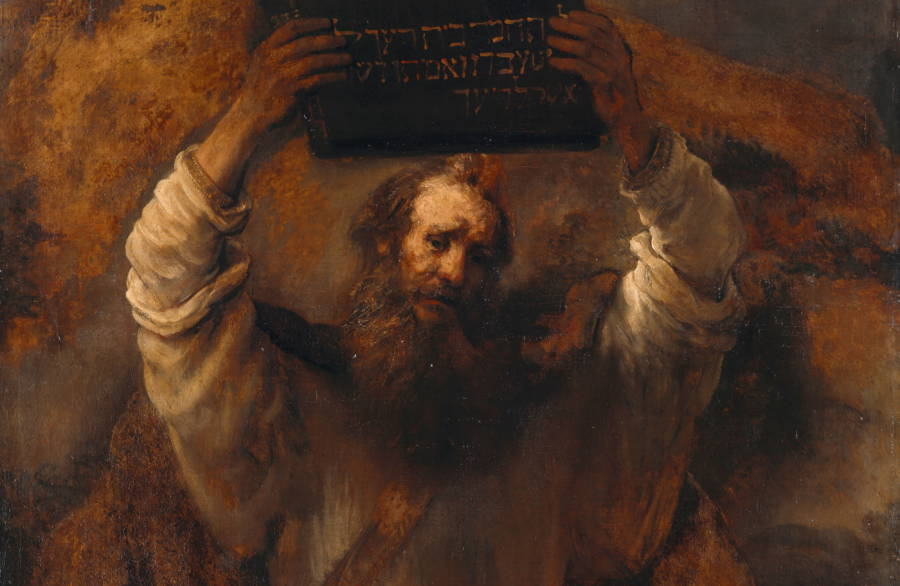 Painting Of Moses