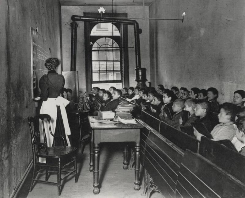 Poor Children In Class