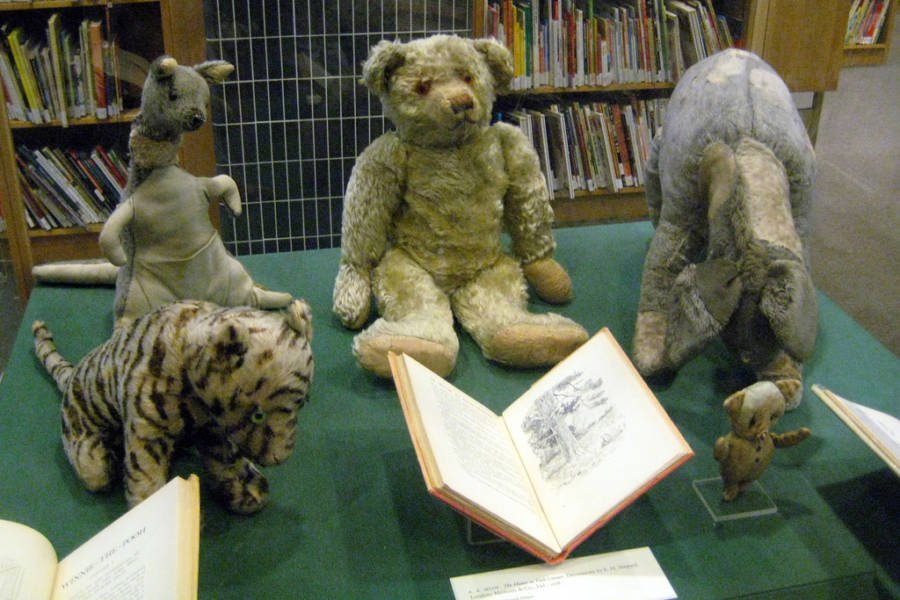 Real Winnie Pooh And Toys