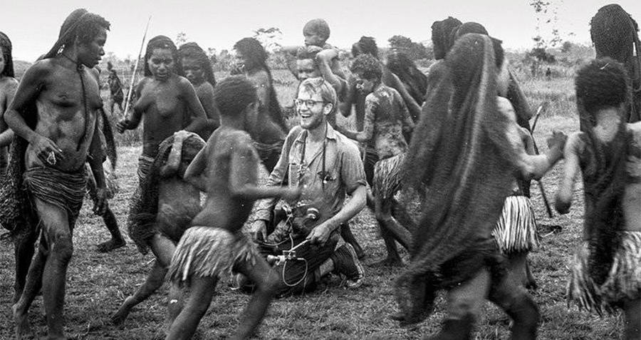 Michael Rockefeller And Tribe