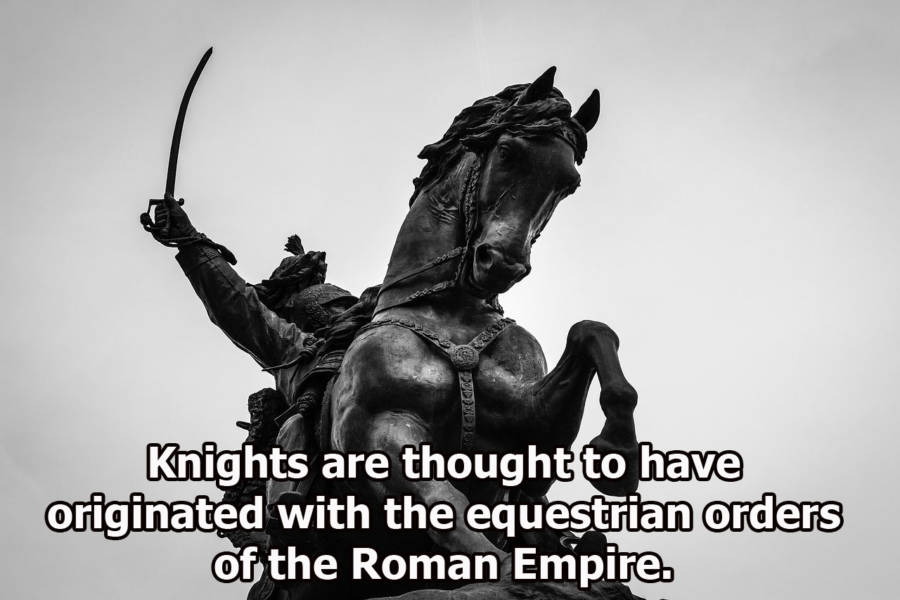 Medieval Knights Facts Roman Empire